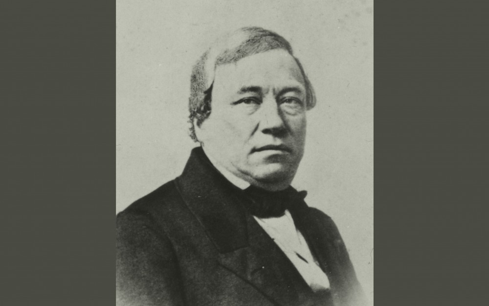 Early photograph of Alexander Clavel